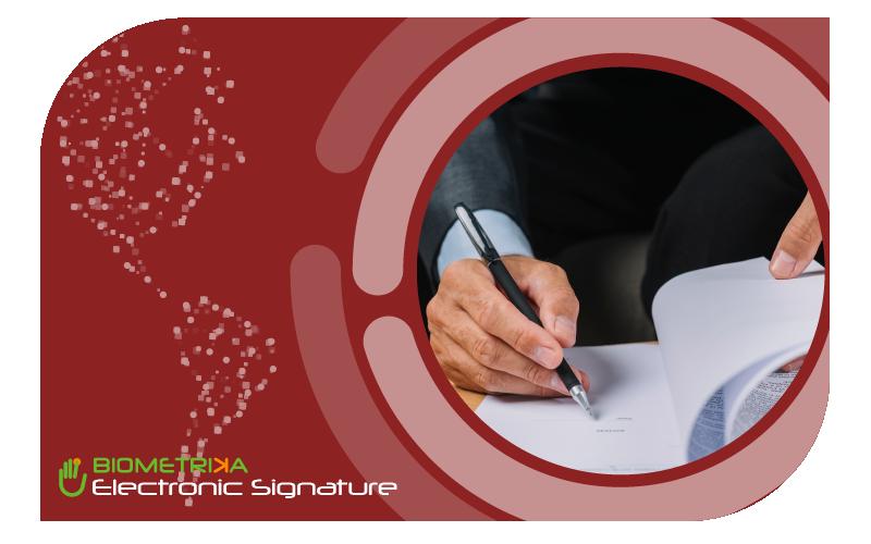 Firma Electrónica Simple, Avanzada y Biométrica