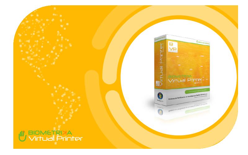 Biometrika Virtual Printer Unidad - ID 1226391